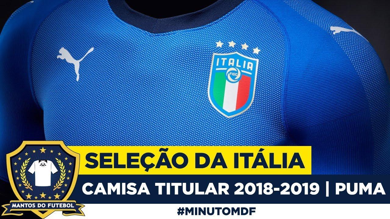 1fdc39f626 Camisa da Seleção da Itália 2018 Puma - YouTube