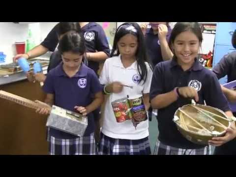 4th graders explore sound energy, create own instruments