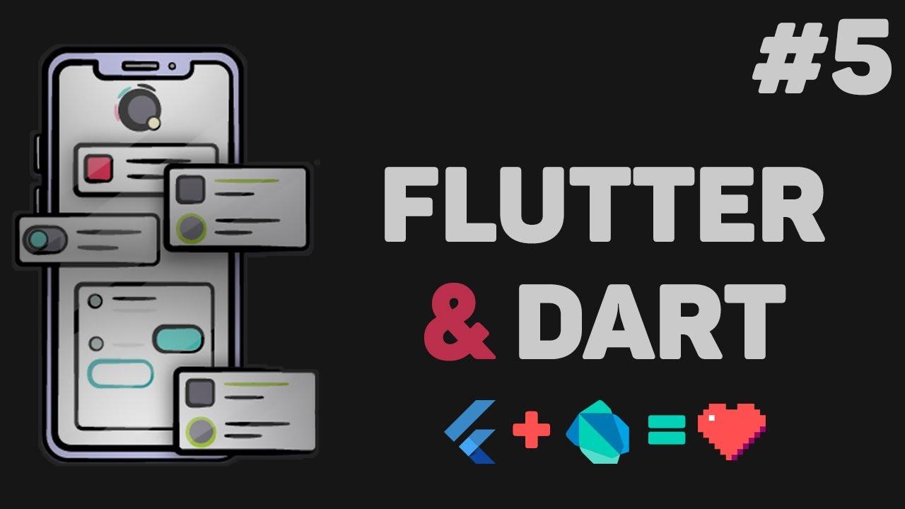Уроки Flutter и Dart с нуля / #5 – Основные виджеты приложения