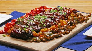 Sweet and Sour Baby Back Ribs