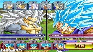Video Dragon Ball Z: Budokai Tenkaichi 3 Latino Team SSJ5 vs Team Blue download MP3, 3GP, MP4, WEBM, AVI, FLV Oktober 2018