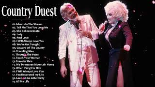Kenny Rogers, Dolly Parton Greatest Hits ♡ Country Duets Male and Female ♡ Country Love Songs Ever