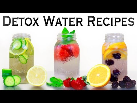 �� INSTANT BELLY FAT BURNERS! 3 Detox Water Recipes for Weight Loss, Energy, & Anti-Aging! ��