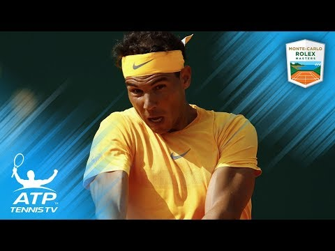 Rafa Nadal's Best Shots vs Bedene: Monte-Carlo 2018 Second Round