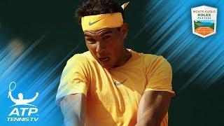 Rafa Nadal's Best Shots vs Bedene: Monte-Carlo 2018 Second Round