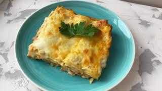 ЛАЗАНЬЯ. Казакша рецепт. Соус Бешамель. Соус Болоньезе. Lasagna. Итальянская кухня.