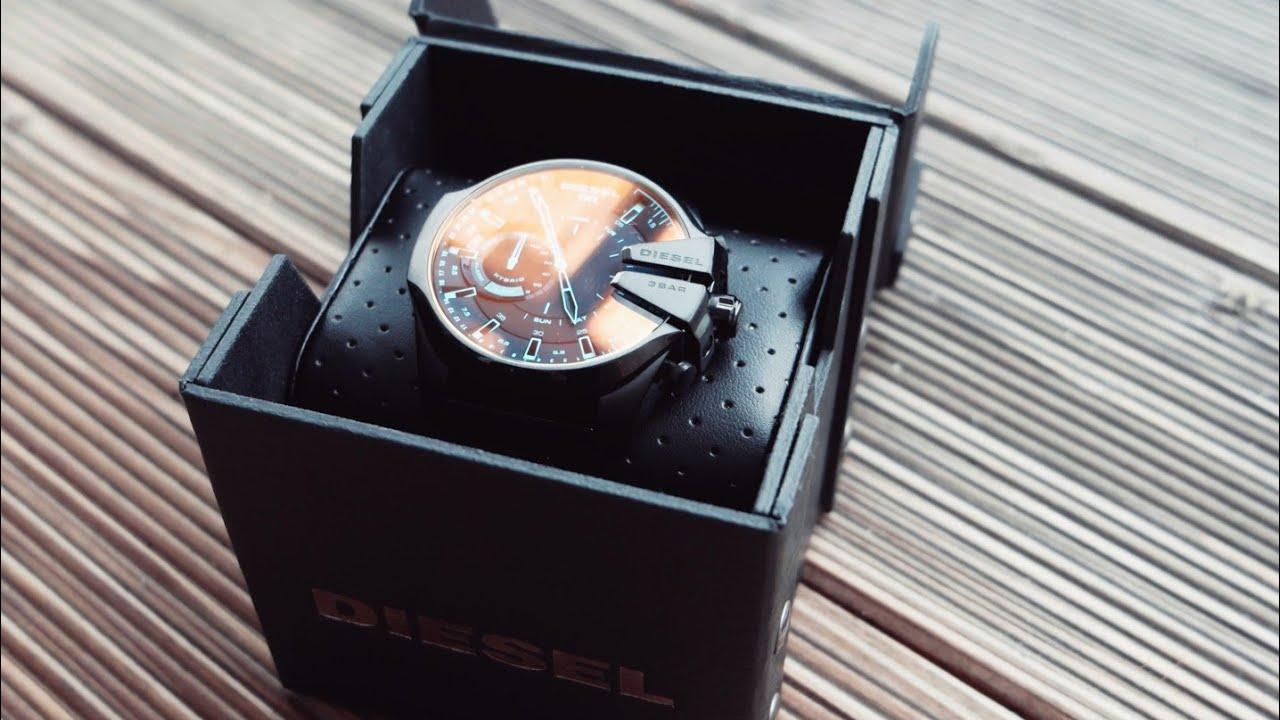 c222faaae81 Hybrid Smartwatch mit außergewöhnlichem Design - Diesel On Mega Chief  Unboxing und erster Eindruck