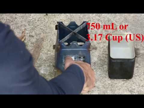 TOMSHOO Outdoor Camping Titanium Wood Stove