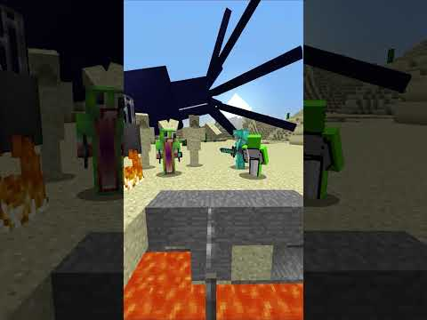 Minecraft: Saving the SQUAD + DREAM to help me! #shorts