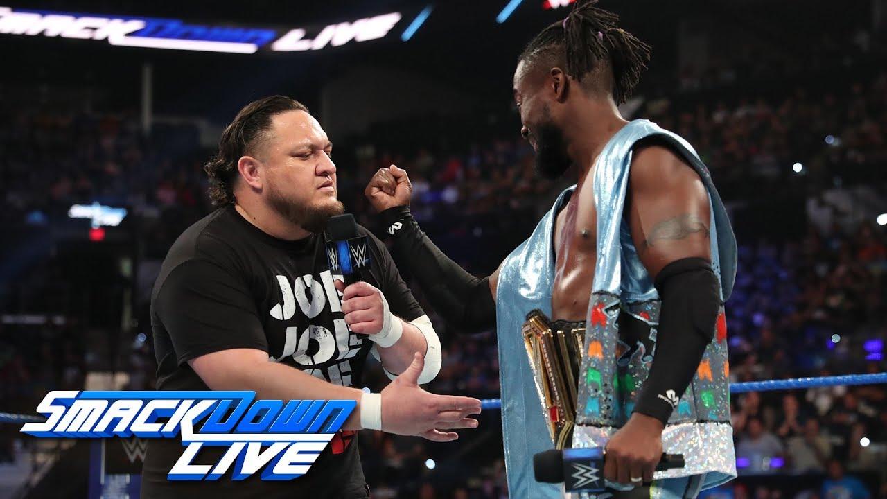 Kofi Kingston sends a defiant message to Samoa Joe: SmackDown LIVE, July 2, 2019