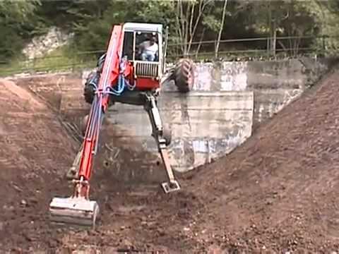 euromach spider excavator