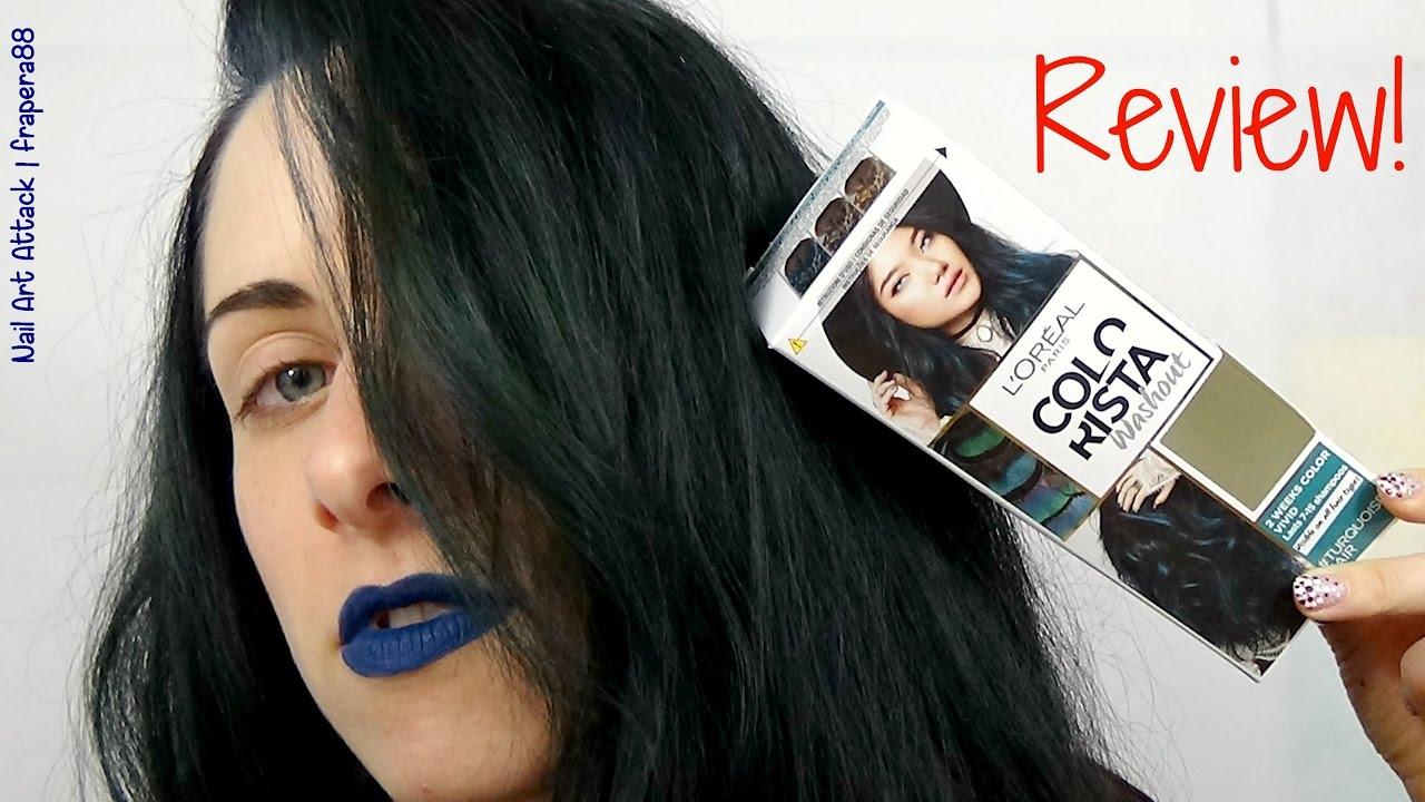 L Oreal Paris Colorista Washout Review Turquoisehair