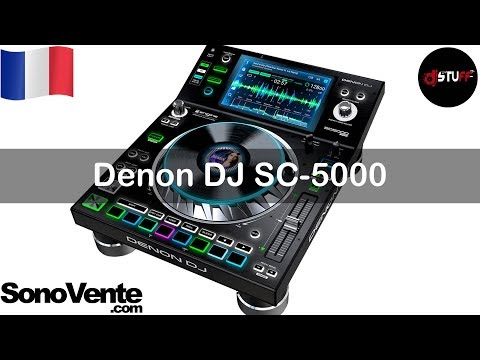 Demo Denon DJ SC5000 Prime ( for English see description or link in the video )