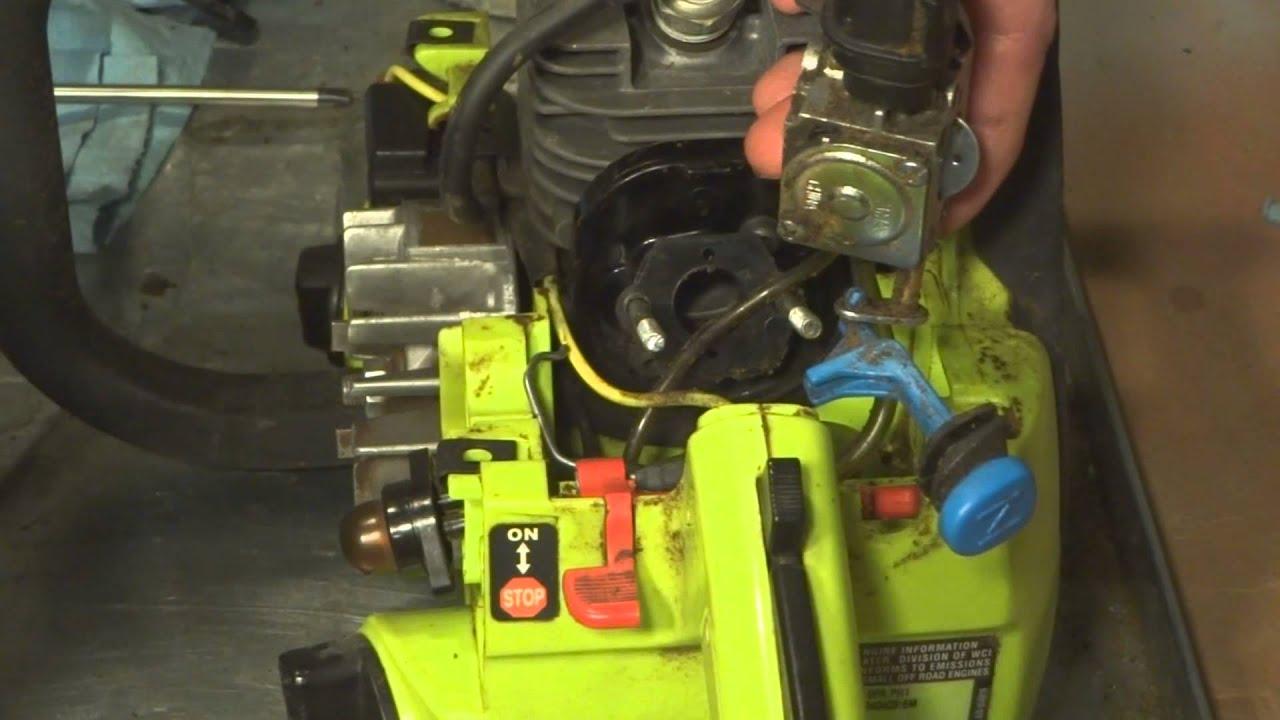 Poulan 2150 Chainsaw Fuel Line Diagram 1996 Club Car Wiring 36 Volt Craftsman Lines Youtube