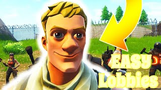 How to get BOT LOBBIES on Fortnite (DEFAULTS ONLY) 2019
