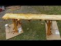 My First Log Bench