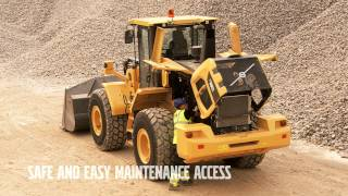 Volvo G-series wheel loaders: service simplified