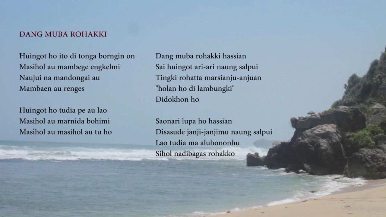 DANG MUBA ROHAKKI - Rimanda Sinaga & Plato Ginting (LYRIC)