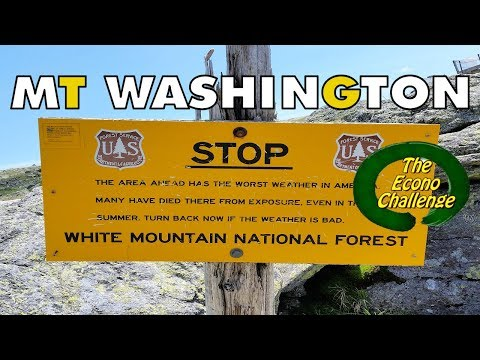 White Mountains - Stories from Mt. Washington - Vlog #7