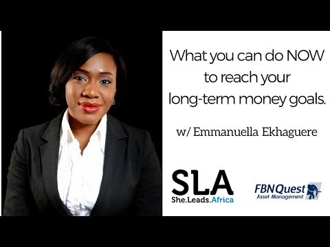 She Leads Africa Webinar with FBNQuest Asset Management: How to reach your long-term money goals