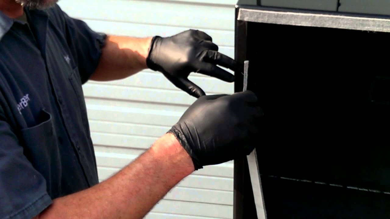 How to install a LavaLock BBQ Smoker Pit Gasket