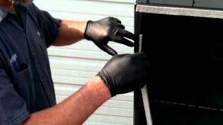 how to install a lavalock bbq smoker pit gasket self stick by bbqsmokermods com