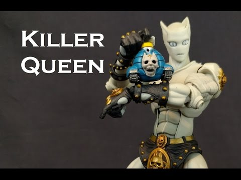 Super Action Statue KILLER QUEEN Figure Review (Jojo's Bizarre Adventure)