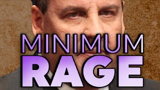 Chris Christie Isn't Just Tired Of Minimum Wage, He Simply Can't Care