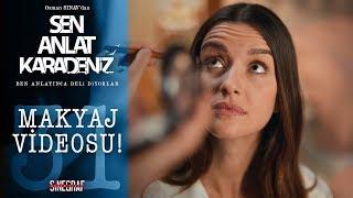 Makyaj videolarına özenen Asiye - Sen Anlat Karadeniz 31.Bölüm
