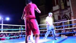 Función de Box en San Gabriel Jalisco 2014.