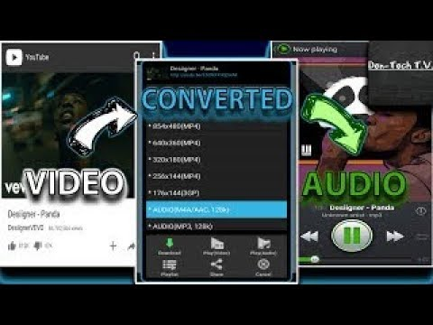 Convert Video Into Audio