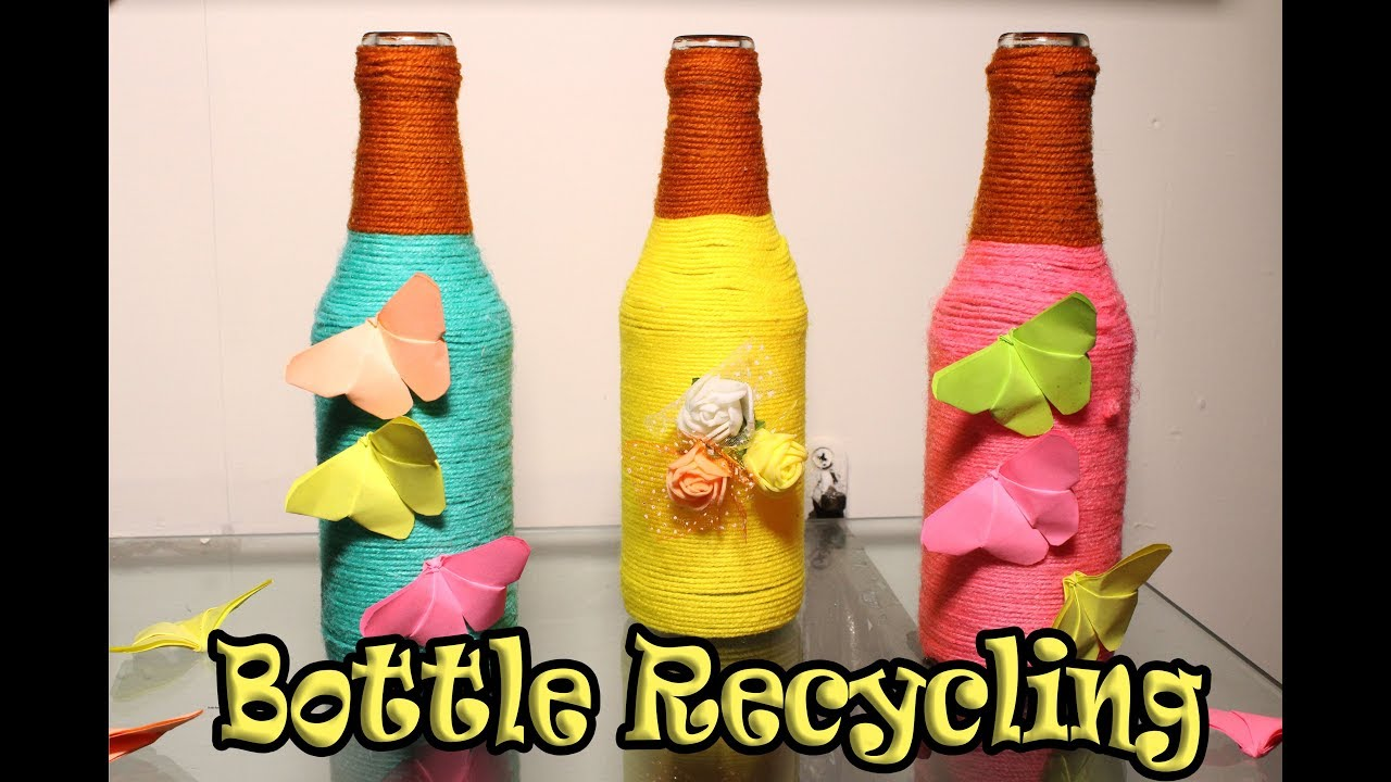 how to make glass bottles