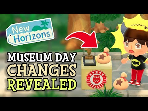 Animal Crossing New Horizons: INTERNATIONAL MUSEUM DAY 2021 CHANGES (Season Event Details) & Guide