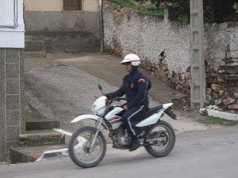 [Slow TV] Motorcycle Ride - Morocco - Al Hoceima to Melilla