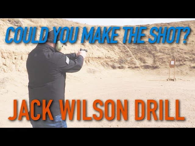Jack Wilson Drill – Could You Make the Shot?