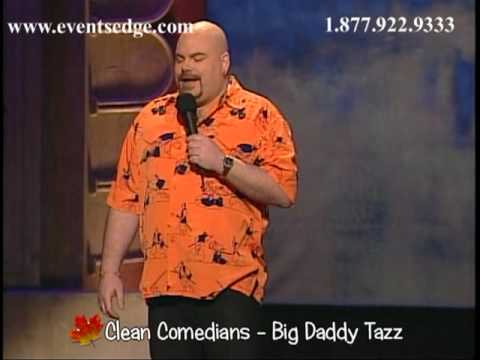 Big Daddy Tazz - Clean Comedian by Events Edge Entertainment and Speakers Bureau