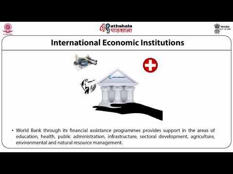 International Economic Institutions: WTO