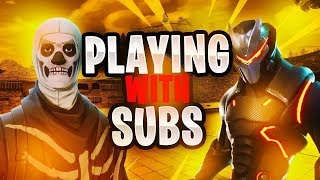 Fortnite Live Playing With Subs ZoneWars #RoadTo1k #siege #PS4Live #ZoneWars