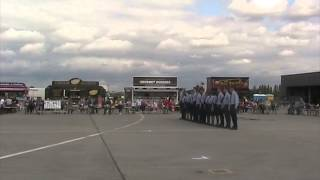 85 Squadron Drill Display Team at RAF Northolt Families Day 2014
