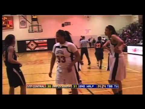 High School Girls Basketball: 2011 Twin Cities Championship - St. Paul Central vs. Minneapolis South