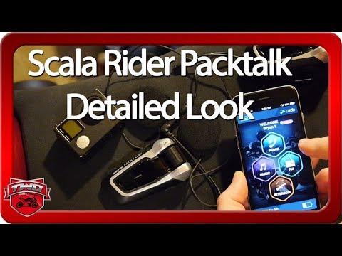 Cardo Scala Rider Packtalk Detailed Look And Test Vs SENA