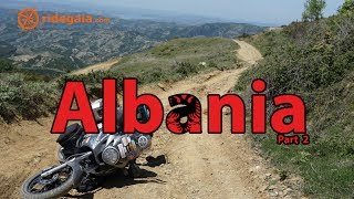 Ep 42 - Albania  - Around Europe on a Motorcycle _ Honda Transalp 700