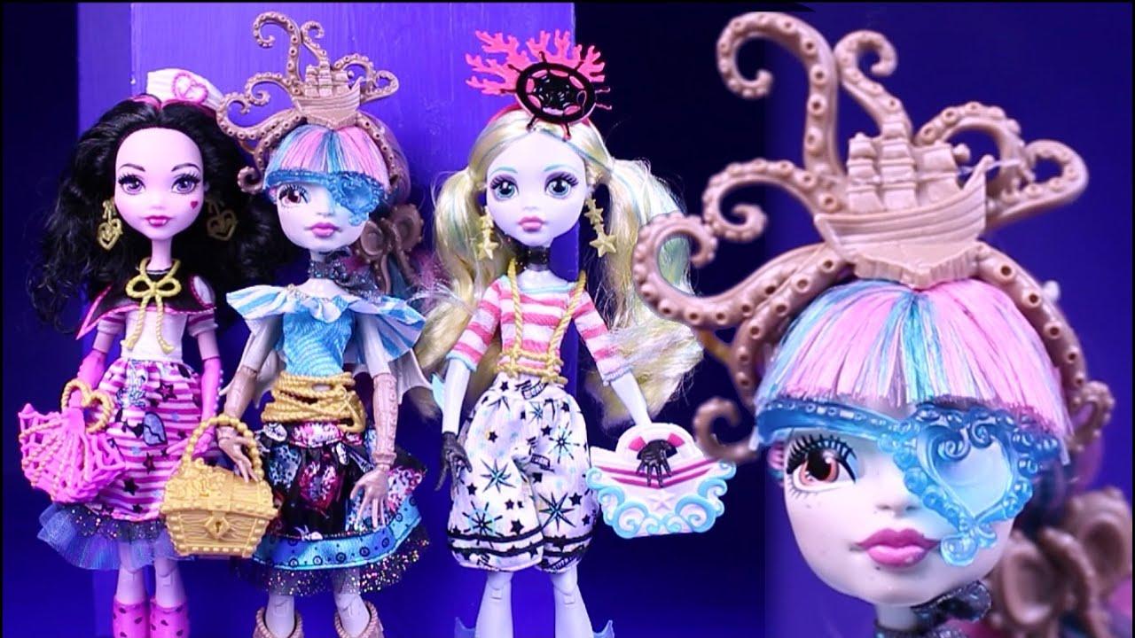 Куклы монстер хай пираты