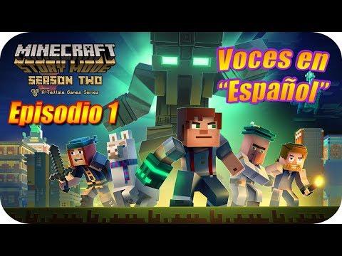 """MINECRAFT STORY MODE [T2] Episodio 1: Héroe en Casa (Completo) """"Con Voces en Español"""""""