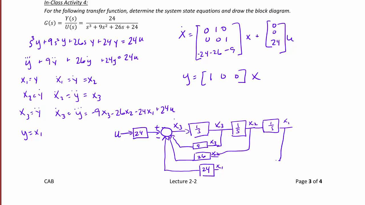 ece320 lecture2 2b state equation solutions transfer functions [ 1280 x 720 Pixel ]