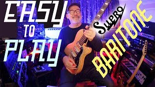Baritone or Guitar? | This Supro is both | Guitar Lesson | Tim Pierce | Lean To Play