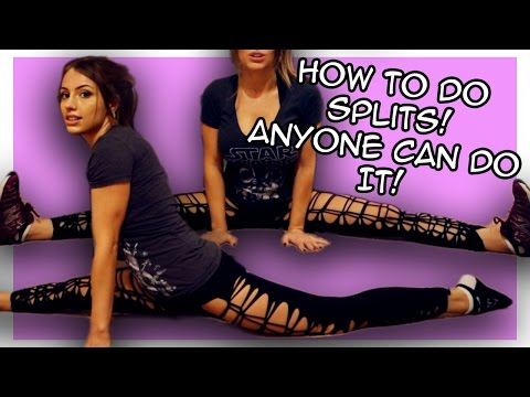 How to do a Split with Liz Katz Front Splits and Side Splits for Beginners
