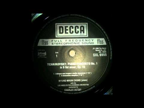 TCHAIKOVSKY, Piano concerto no 1, 1 2mov  MYUNG WHUN CHUNG, piano