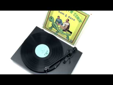 """Sam & Dave  - """"Hold On, I'm Comin'"""" (Official Vinyl Video)"""