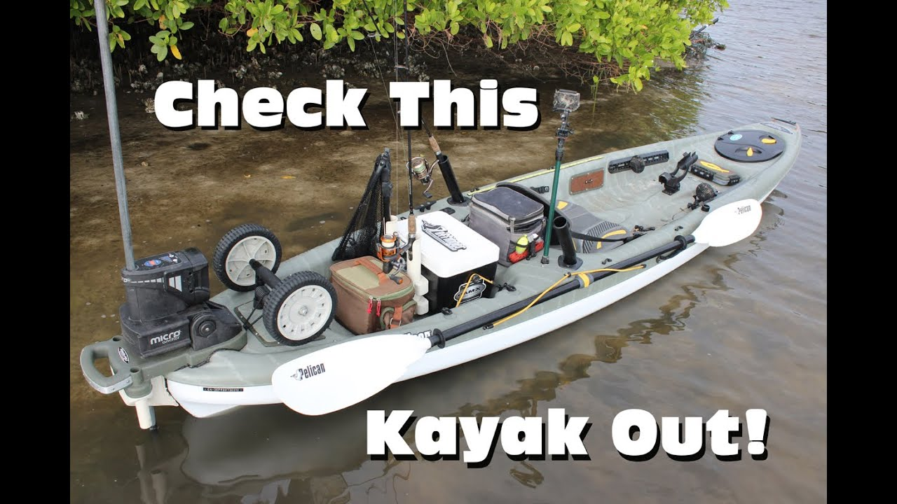 Ultimate Inshore Fishing Kayak Rigging Pelican Strike 120x Angler